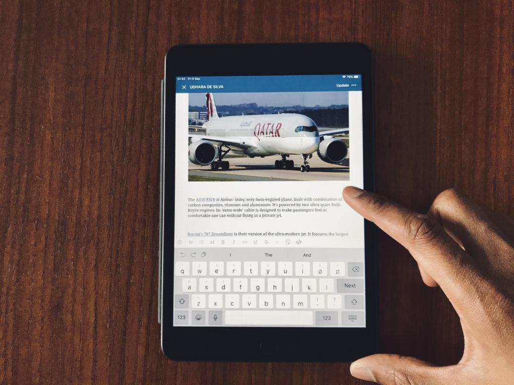When an iPhone, iPad Pro, MacBook Pro aren't enough! iPad